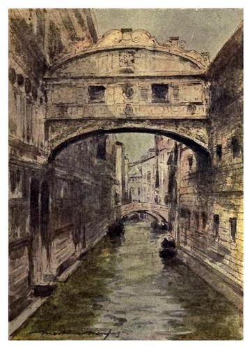 005-El puente de los Suspiros-Venice – 1904-Dorothy Menpes
