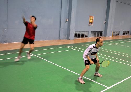 Faults In Badminton. Badminton Final Play