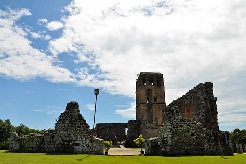 Catedral de la ciudad de Panamá La Vieja