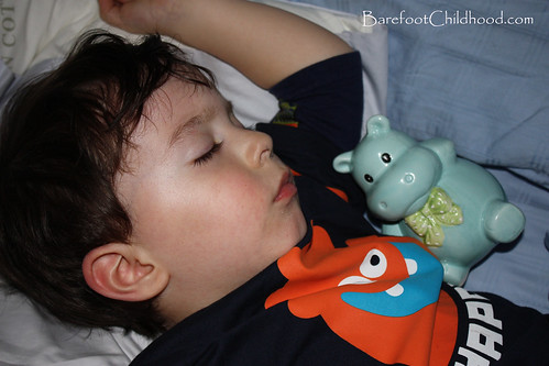 levi sleeping piggy bank blog