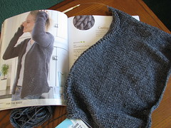 New Sweater in Progress