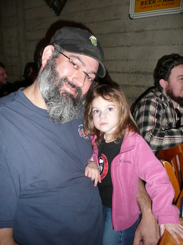 Sean Paxton, with his daughter Olivia