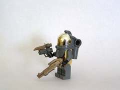 Bronze/Gold/Bley Combo (The Skull Bandit) Tags: brick art apple movie for tv call arms lego duty ghost engine halo artsy will prototype microsoft amelia trans build cod nerf trade bionicle proto prototypes chapman protos mw2 brickarms mw1