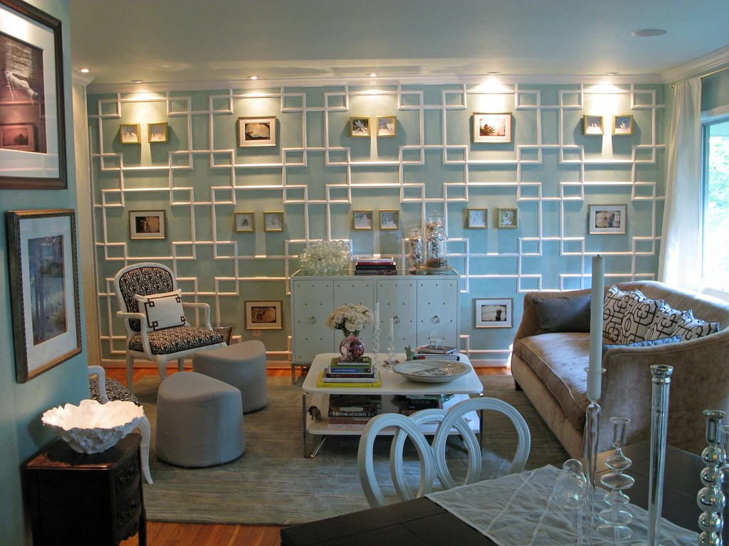moulding - wall divider inspiration
