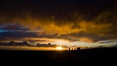 Heaven at the Beach (Chris Camargo) Tags: ocean sunset storm beach clouds evening la losangeles twilight nikon zoom santamonica g fullframe nikkor fx ff westla 2880mm f3356 d700