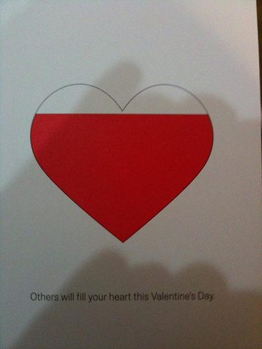 AdSense Valentines Day Card