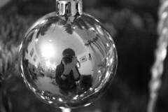 Moi At Christmas Last Year :P (DrummingWoop) Tags: christmas portrait alex self canon ball photography eos raymond 1855mm efs reflction 450d