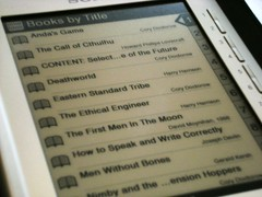 My eReader, Stuffed with Free Media