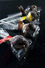 Caramel Lollipop Chocolat, Henri Le Roux, Salon du Chocolat Tokyo 2010, Shinjuku Isetan