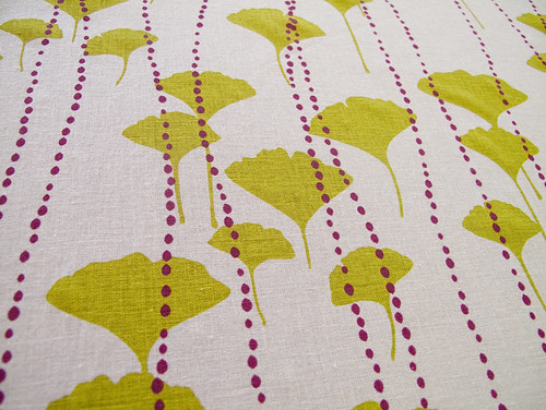 custom Ginkgo for blinds