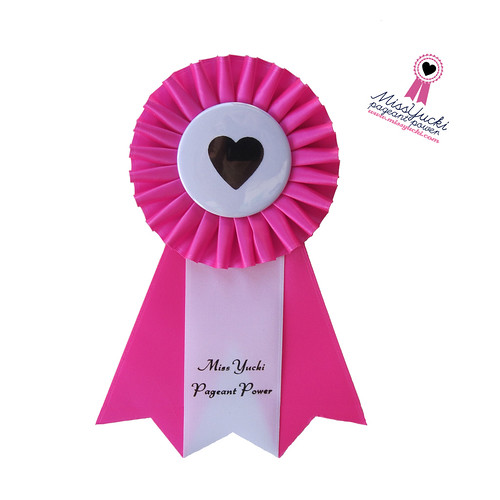 Pageant Power Rosette
