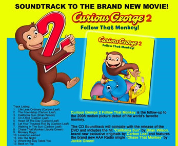 Follow That Monkey CD