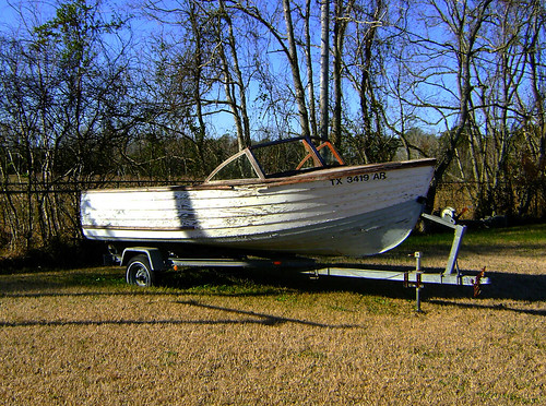 wooden classic boat trailer runabout united states north america