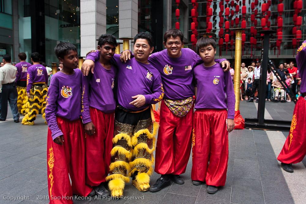Lion Dancer @ Pavilion, KL, Malaysia