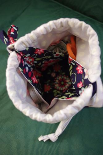 Origami Bag Interior