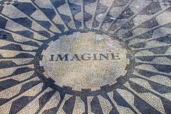 Imagine (Gary Burke.) Tags: nyc newyorkcity ny newyork canon eos rebel memorial centralpark mosaic imagine beatles gothamist dslr johnlennon strawberryfields garyburke klingon65 t1i canoneosrebelt1i