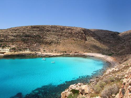 Isola dei Conigli Lampedusa, spiagge piu' belle d'europa