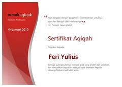 SA-Palembang-2010-01-Januari-Feri Yulius (RumahAqiqah) Tags: certificate 2010 palembang aqiqah zabiha sertifikat januari2010 rumahaqiqah certificateofaqiqah certificateofzabiha sertifikataqiqah