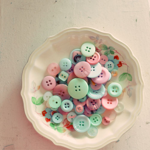 Bowl of Buttons by alice b. gardens