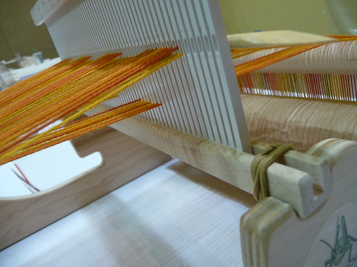 heddle up position