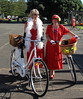 Art Deco Bicycle Belles (Eyersh) Tags: red bicycles artdeco hawkesbay canong10