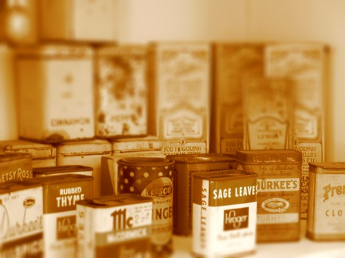 Spices, tiltshifted