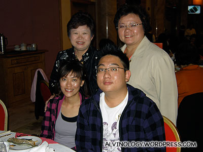With the two MPs in our contingent, Ms Ellen Lee and Mdm Cynthia Phua