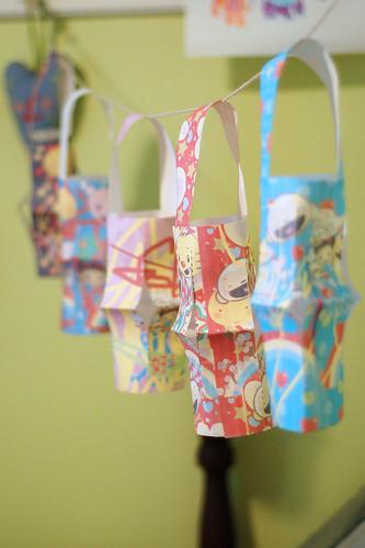 Kai-lan paper lanterns.