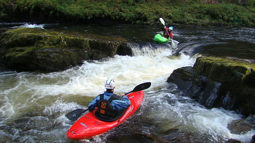 Coaching sessions on whitewater
