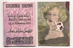 Vintage Flower Girl ATC