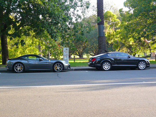 people in Melbourne drive really, REALLY nice cars...