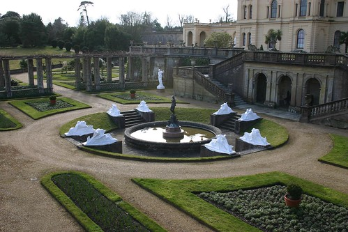Wrapped Statues at the Osborne House