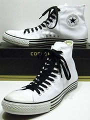 Double Details White & Black Hi (hadley78) Tags: shoe shoes ripleys ct ox guinness collection converse cons allstar chucks chucktaylors allstars worldrecord hitops lowtops lowtop hitop joshuamueller hadley78 thatconverseguy