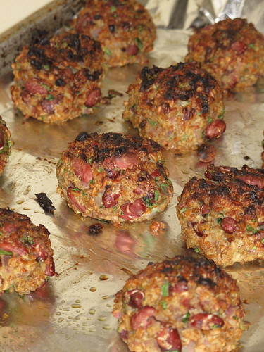 Baked Veggie Meatballs