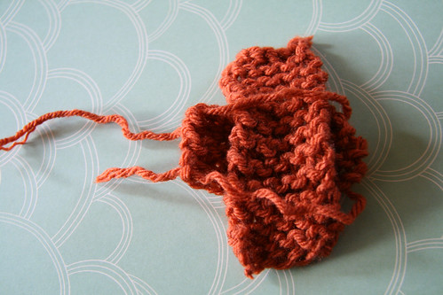 Knit Bow Tutorial Step 4