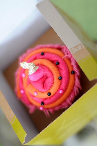 """fiber"" cupcake"