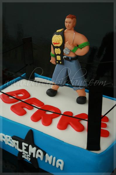SmackDown Cake