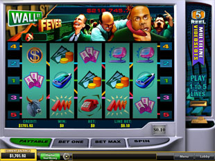 Wall St Fever slot game online review