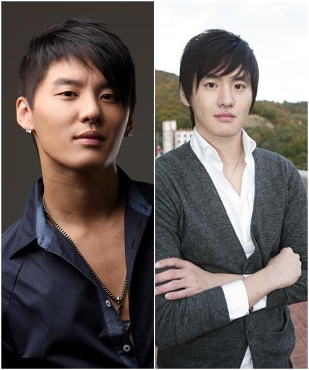 Xiah Junsu and twin brother Kim Junho