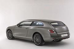 Touring Superleggera Flying Star based on the a Bentley Continental GTC