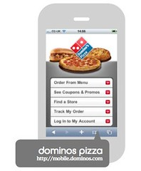 Domino's screenshot