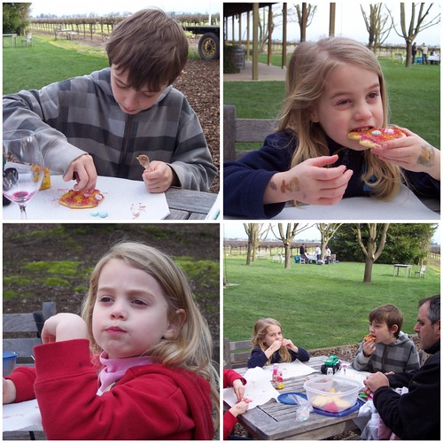 Decorating Cookies at Bogle Vineyards
