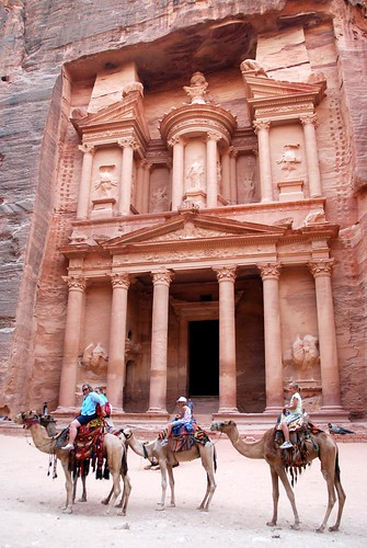 major photo op, petra