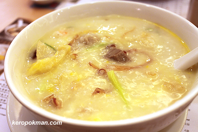 Noodle Place Special Congee (zhao pai zhou)