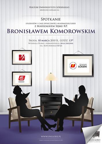 Spotkanie z Marszałkiem Sejmu RP, Bronisławem Komorowskim