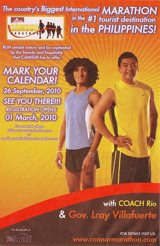 Camsur Marathon 2010 Race Results