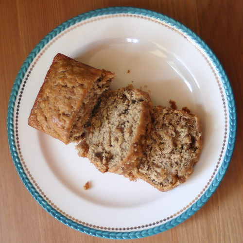 Walnut-Bourbon Banana Bread