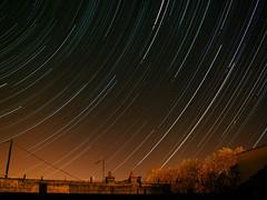 filet d'étoiles + etoile filante