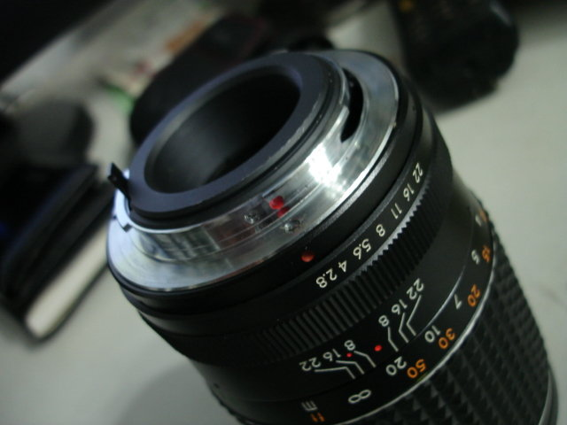 Auto Makinon Multi-Coated 135mm/f2.8老鏡入手試拍