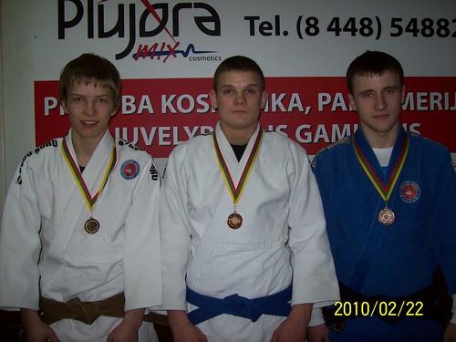 Iš kairės Donatas Kasteckas, Ramūnas Dibutys ir Mantas Vaitkevičius